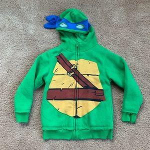 DX XTREME TMNT Blue Ninja Turtle Leonardo Hoodie